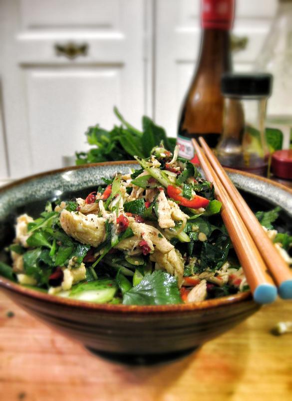 Rejuvenating Chinese Chicken Salad