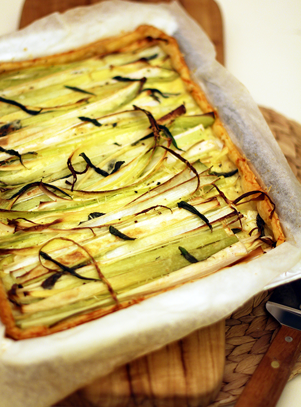 leeks and ricotta tartine recipes dishmaps melted leeks and ricotta ...