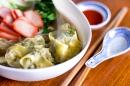 bbq pork wonton noodle soup